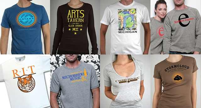 Custom T-shirts Traverse City, Michigan